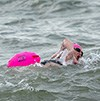 English Channel solo swim for charity