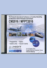 Proceedings of CM/MFPT 2016