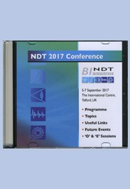 NDT 2017 Conference & Exhibition CD-ROM