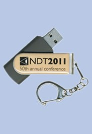 NDT 2011 Conference & Exhibition USB Stick