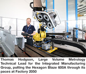 3D optical scanner at the AMRC
